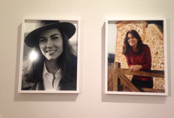 Kate Middleton's Vogue Magazine Pictures on Display at the NPG
