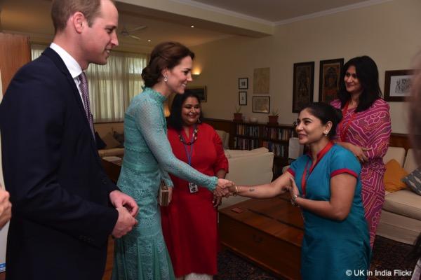 Kate Middleton Green Lace Dress