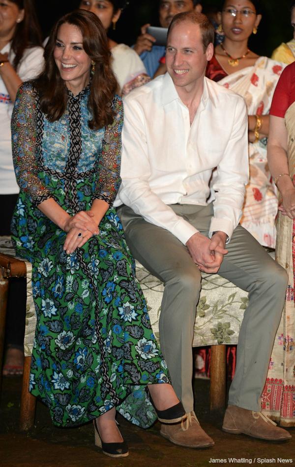 Kate Middleton wears Anna Sui dress