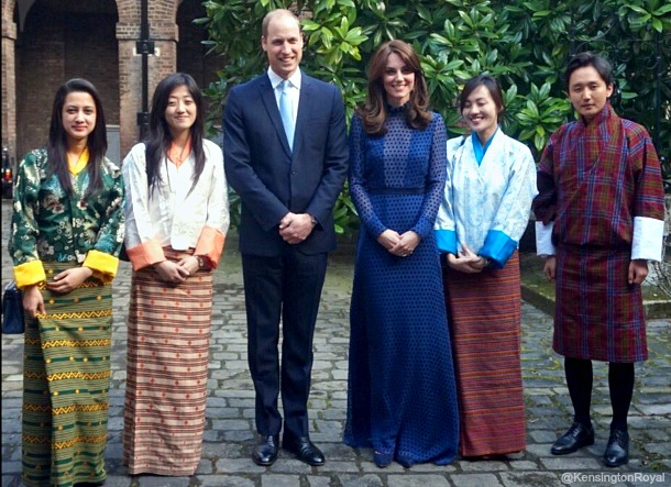 William & Kate meet with young people from India & Bhutan