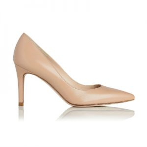 L.K. Bennett Floret shoe in nude leather