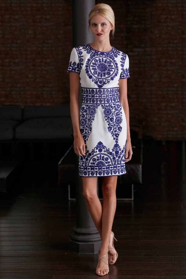 Kate Middleton wearing Naeem Khan dress