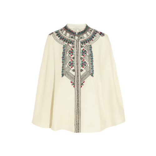 Paul & Joe Embroidered Cape