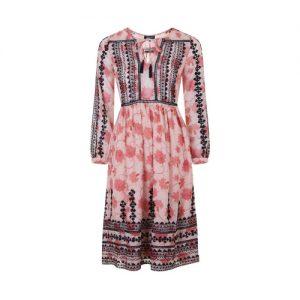 Topshop Embroidered Smock Dress