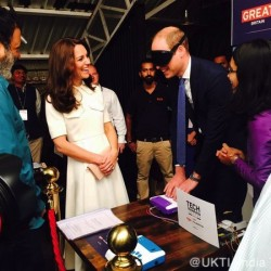 Kate opts for Emilia Wickstead as she bids farewell to Mumbai and visits New Delhi