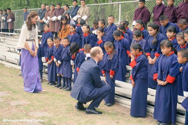 William-Kate-Bhutan-Children