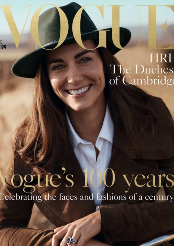 Kate stars on Vogue's 100th birthday cover