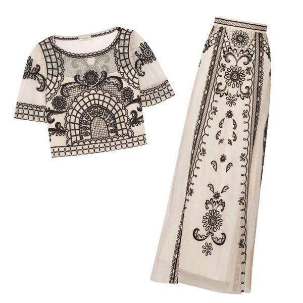 Temperley London Delphia Top + Skirt