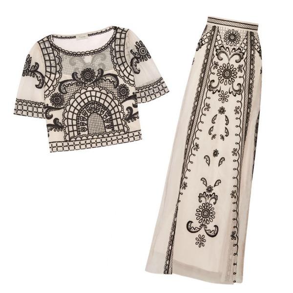 temperley london delphia top and skirt