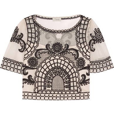 Temperley London Delphia top