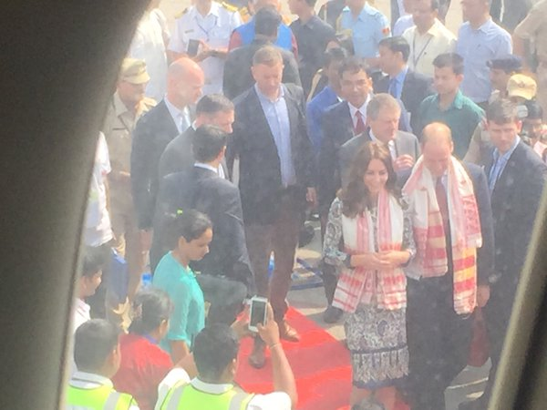 william-kate-depart-india