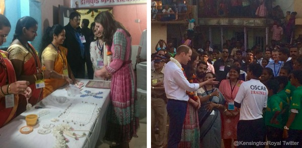 William and Kate in the Slums, meeting with representatives from the Smile Foundation