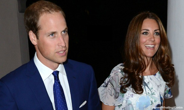 William and Kate on tour in September 2012