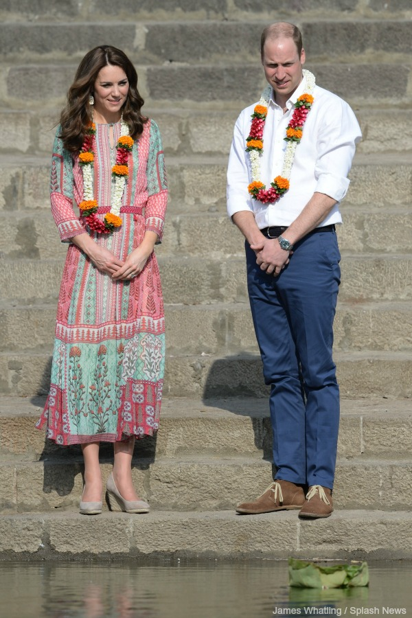 William and Kate at the Water Tank