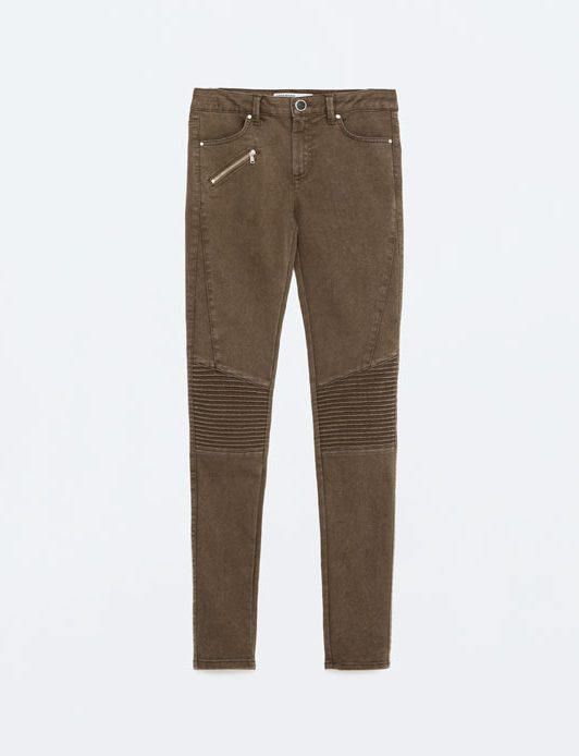 Kate Middleton wears Zara biker trousers