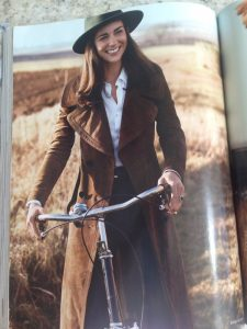 Kate Middleton wearing Burberry in Vogue