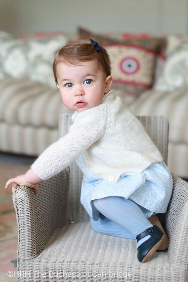 Princess Charlotte Birthday Photos