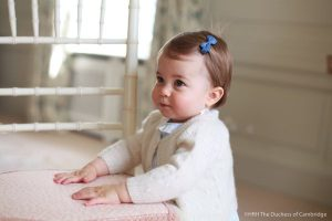 New photos of Princess Charlotte to mark her first birthday