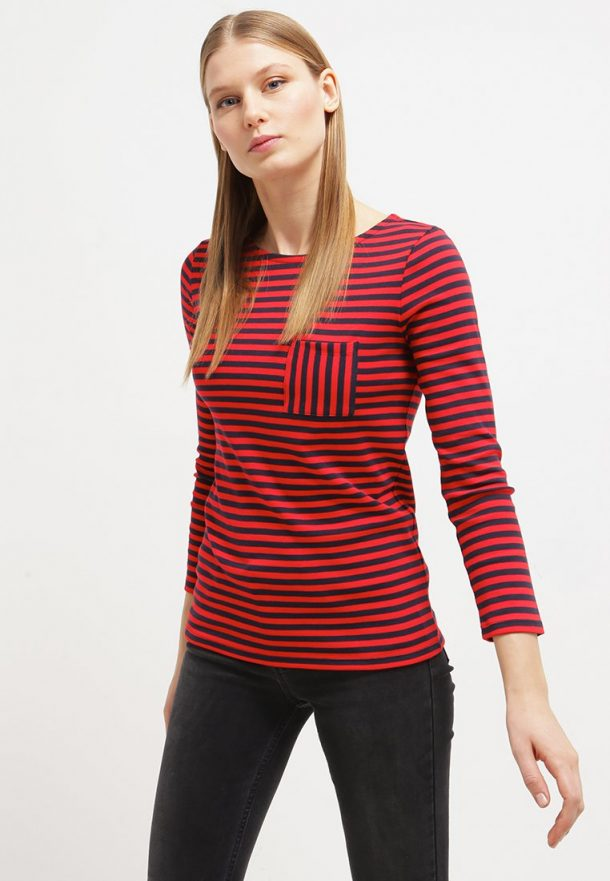 kate middleton 39 s red blue petit bateau stripe t shirt from