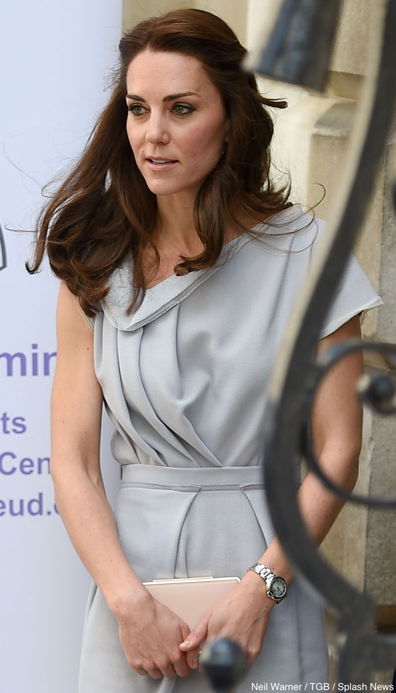 HRH The Duchess Of Cambridge attends a fundraising lunch for the Anna Freud Centre's New Centre Of Excellence