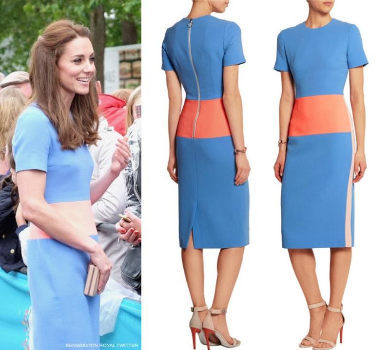 Kate Middleton wearing Roksanda