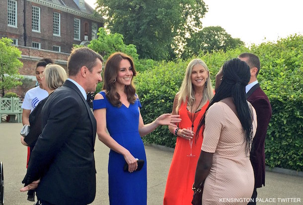 Kate Middleton attended the 2016 SportsBall held by SportsAid