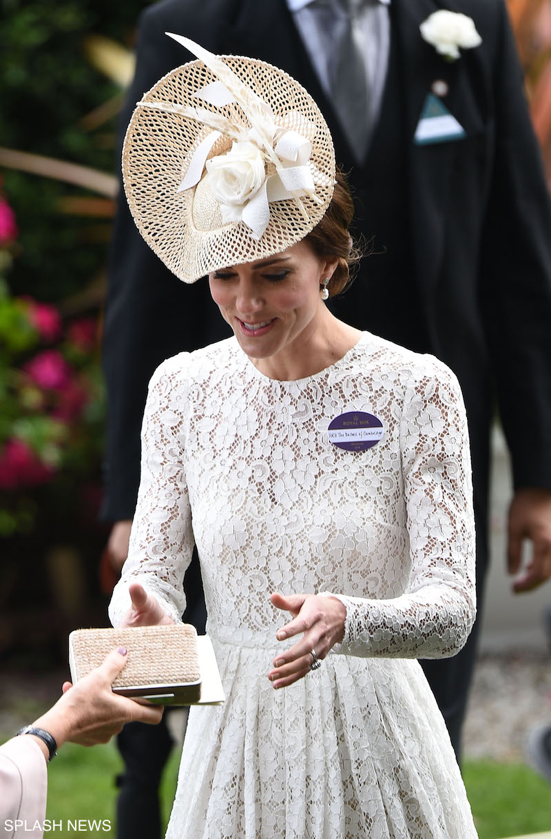 Kate Middleton Makes Her Debut At Royal Ascot 2016