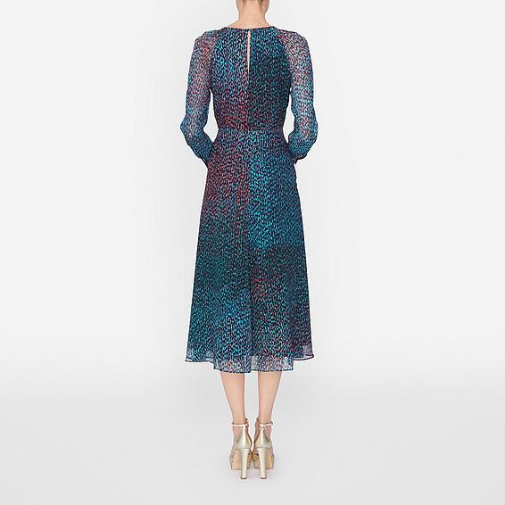 The keyhole back of Kate Middleton's L.K. Bennett Addison dress