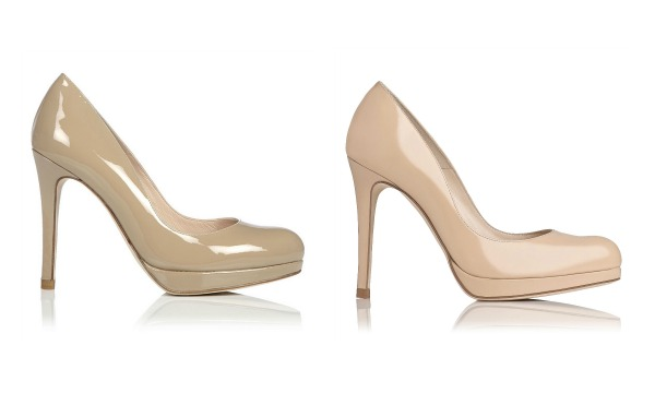 Kate Middleton's L.K. Bennett Sledge pumps in nude