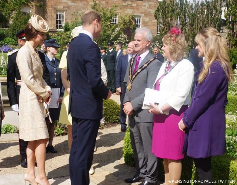 William and Kate attend a Garden Party in Belfast
