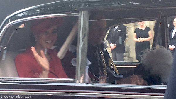 Picture of Kate Middleton at Order of the Garter