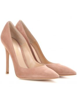 Gianvito Rossi 105 pumps in blush