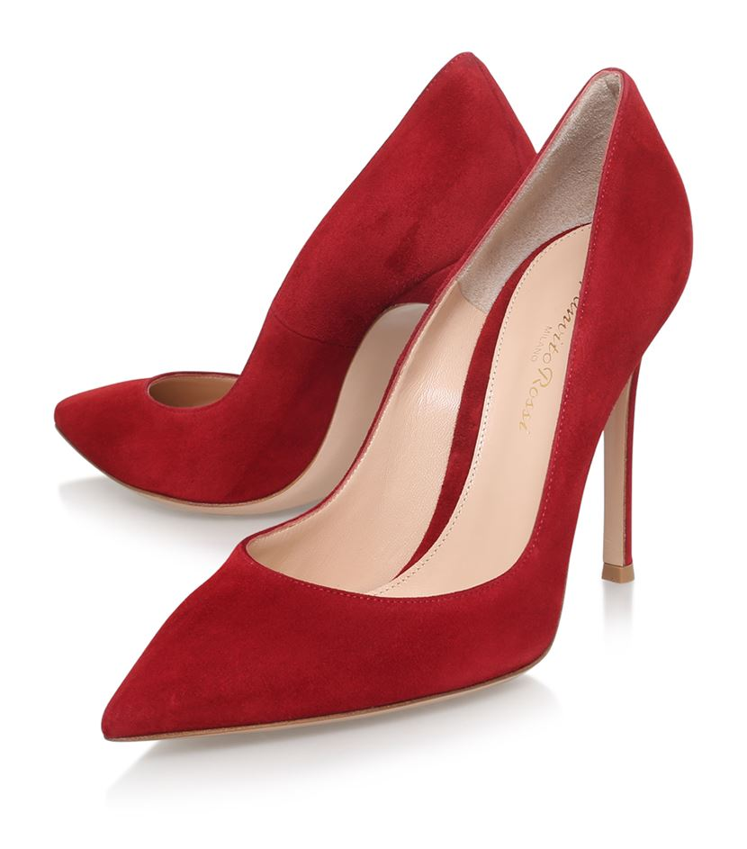 Gianvito Rossi Bari in Red