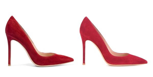 Gianvito Rossi pumps in red