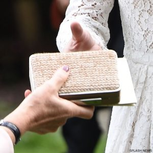 Kate Middleton's box clutch bag at Royal Ascot
