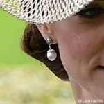 Kate Middleton's new pearl earrings at Royal Ascot