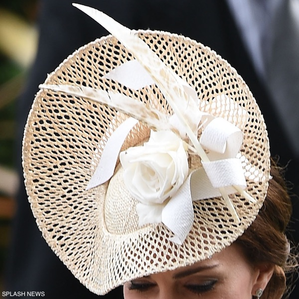 Kate Middleton's hat at Ascot
