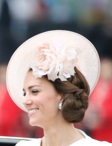 Kate Middleton's hat at Trooping the Colour 2016