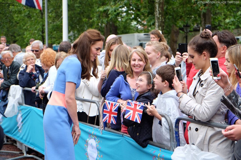 Kate Middleton Walkabout