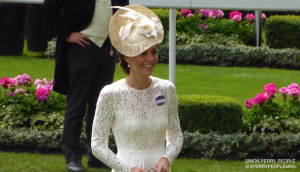 Kate attends Royal Ascot for the first time wearing Dolce & Gabbana white lace dress