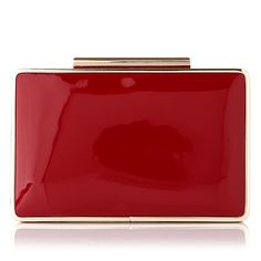 L.K. Bennett clutch bag in Red