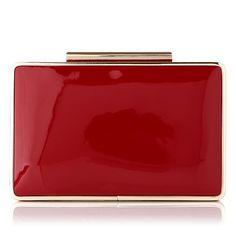 L.K. Bennett clutch bag in Red