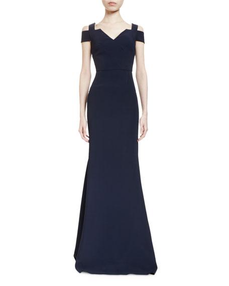 Roland Mouret Nansen dress in midnight blue