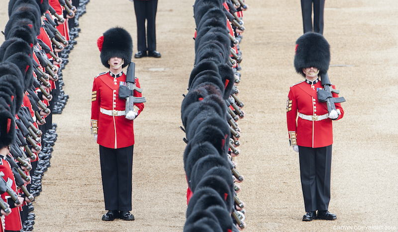 PRECISION, SPLENDOUR, DISCIPLINE and EXCELLENCE BRITAIN'S TROOPS CELEBRATE THE 90th BIRTHDAY OF THEIR QUEEN Almost fifteen hundred soldiers from the Household Division will be on parade to mark the Queen's Official 90th Birthday on 11th June 2016 on Horse Guards Parade, at the ceremony known as Trooping the Colour.