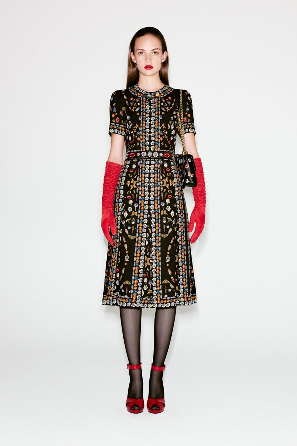 Alexander McQueen signature print dress Buy Cheap Order Sale Shop Offer All Size Cheap New Styles yBqts