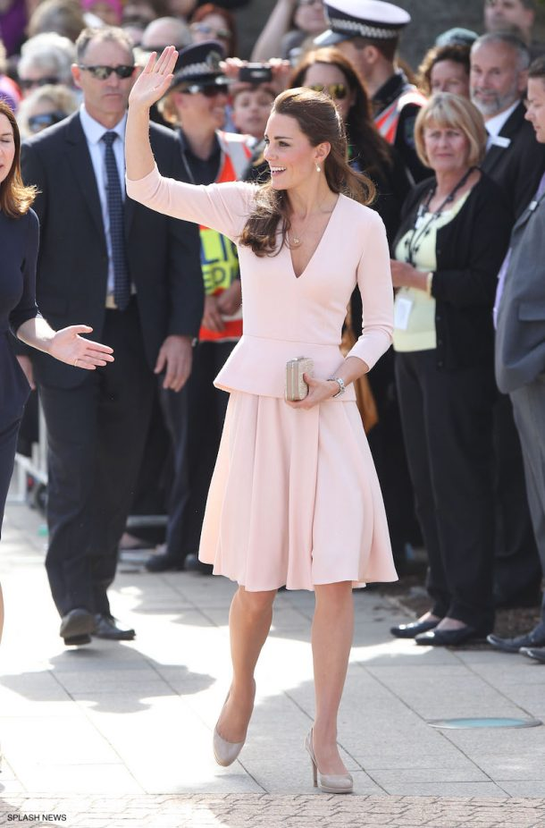 Kate Middleton wearing LK Bennett Accessories