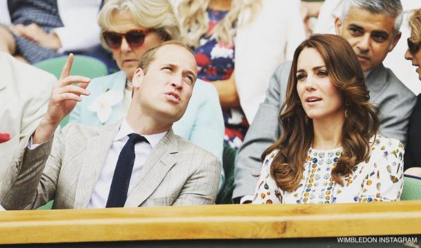 William and Kate at Wimbledon 2016