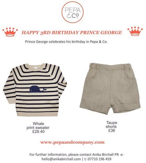 Prince George's Clothing