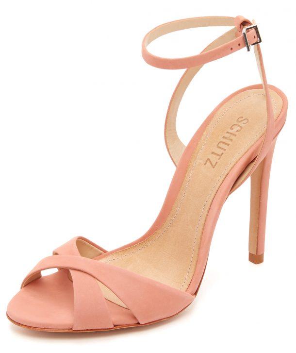 Schutz Dollie Sandal in Clay
