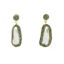 Soru Baroque pearl earrings